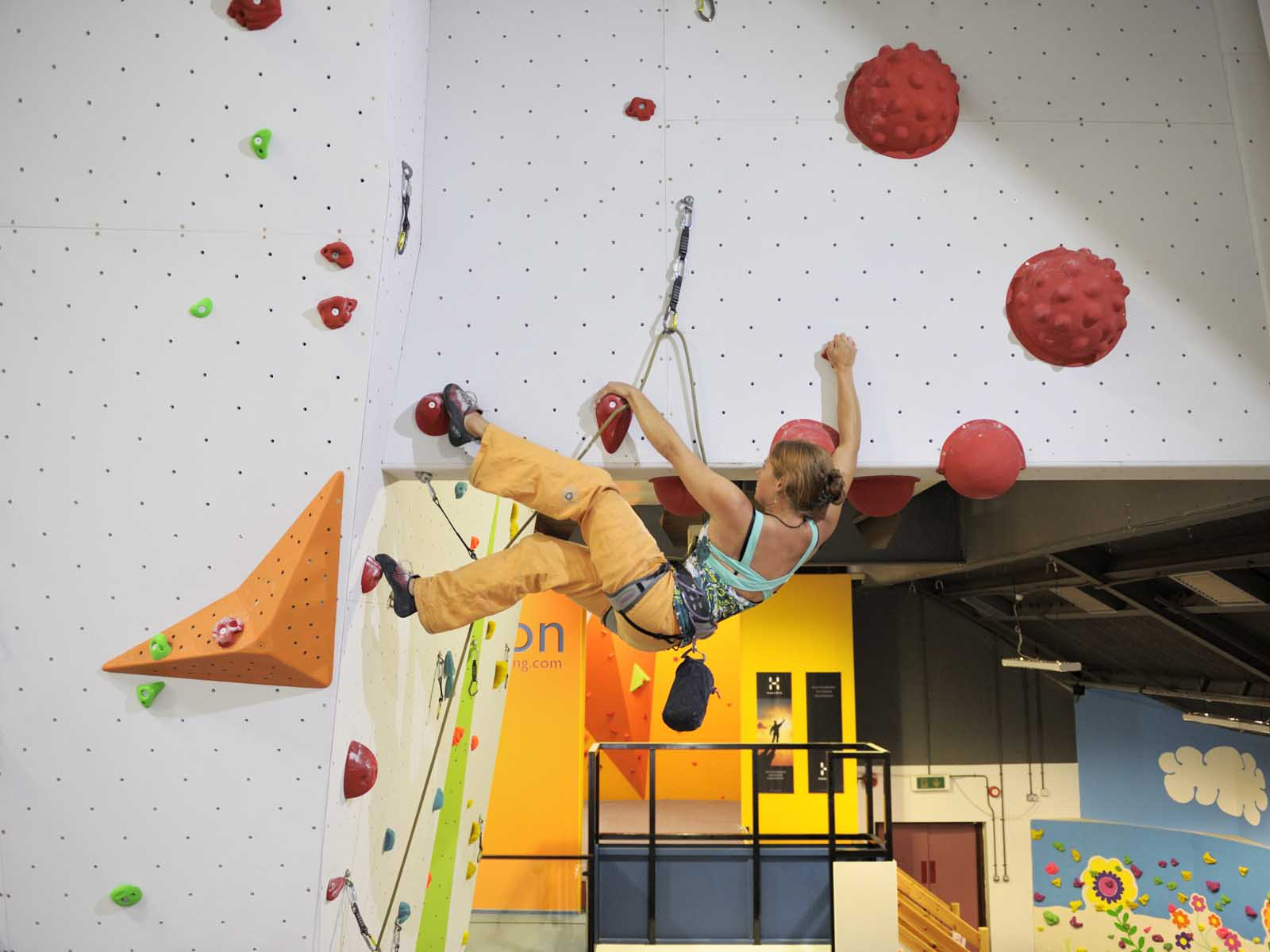 Climbing holds for indoor climbing walls